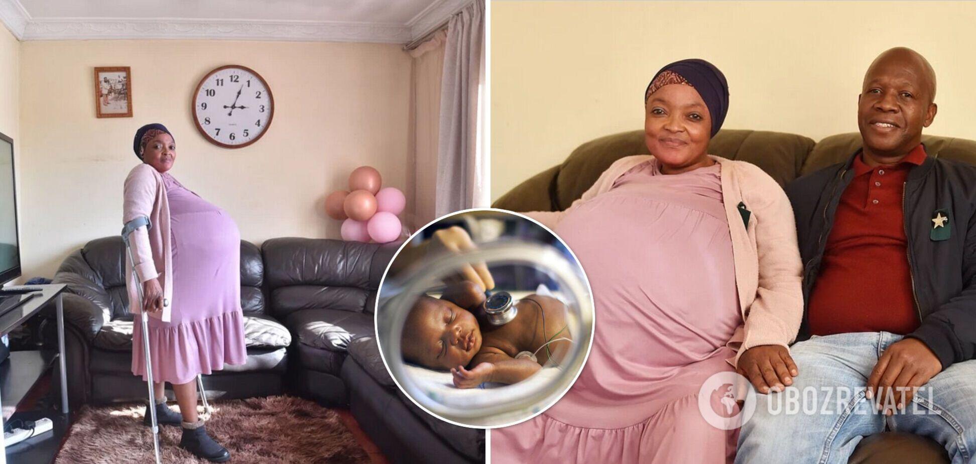 Жінку з ПАР, яка заявила про народження 10 дітей, відправили до психіатричної лікарні