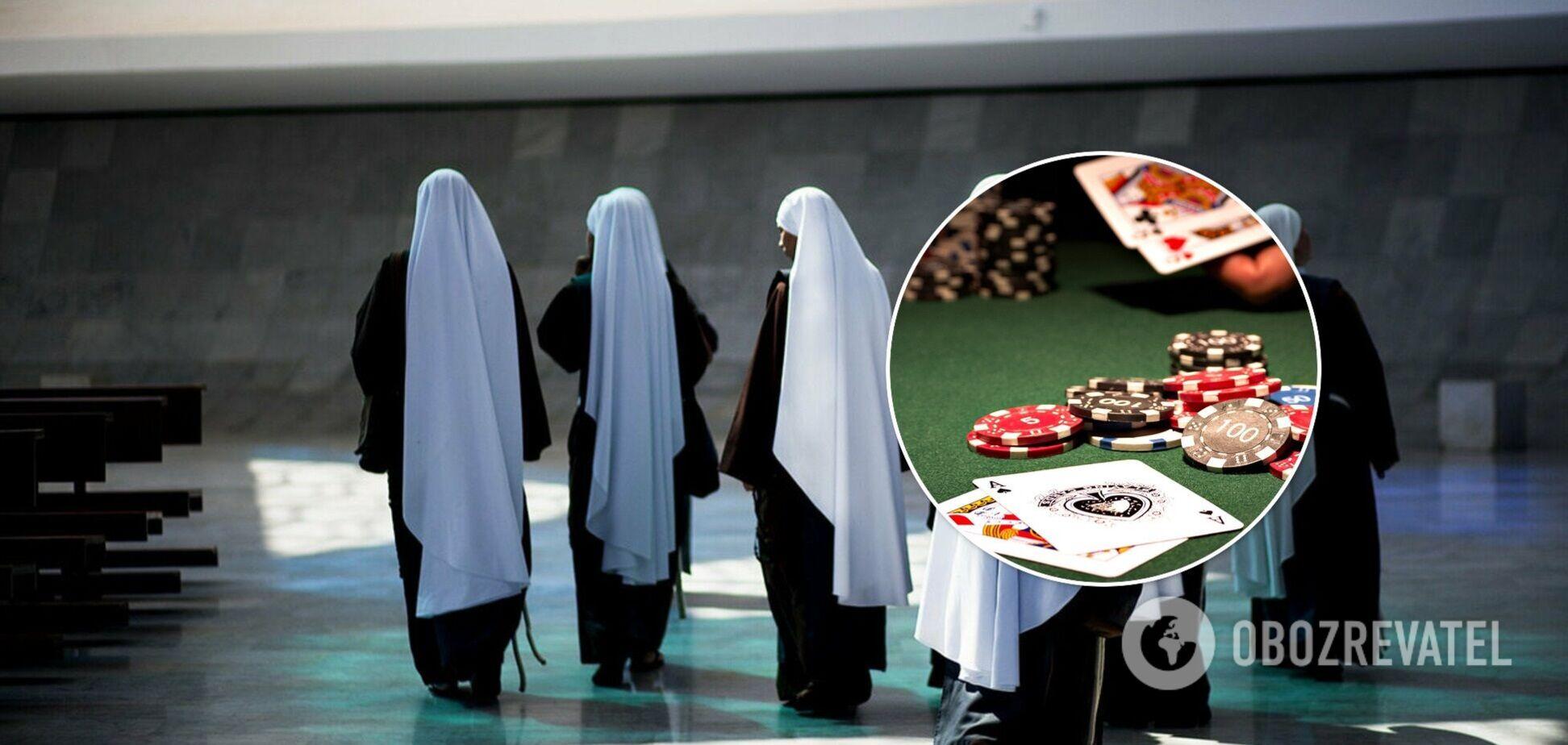 В Лос-Анджелесе монахиня за 10 лет спустила $800 тыс на казино