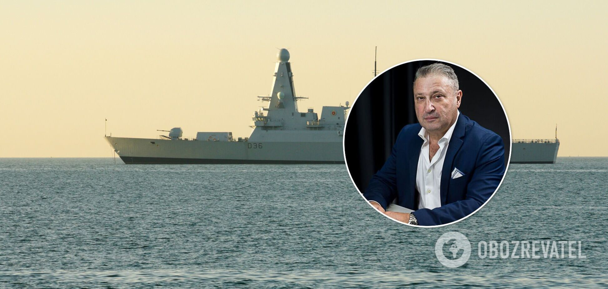 Російські прикордонні катери не могли наздогнати Defender і 'вбили' свої двигуни, – офіцер НАТО