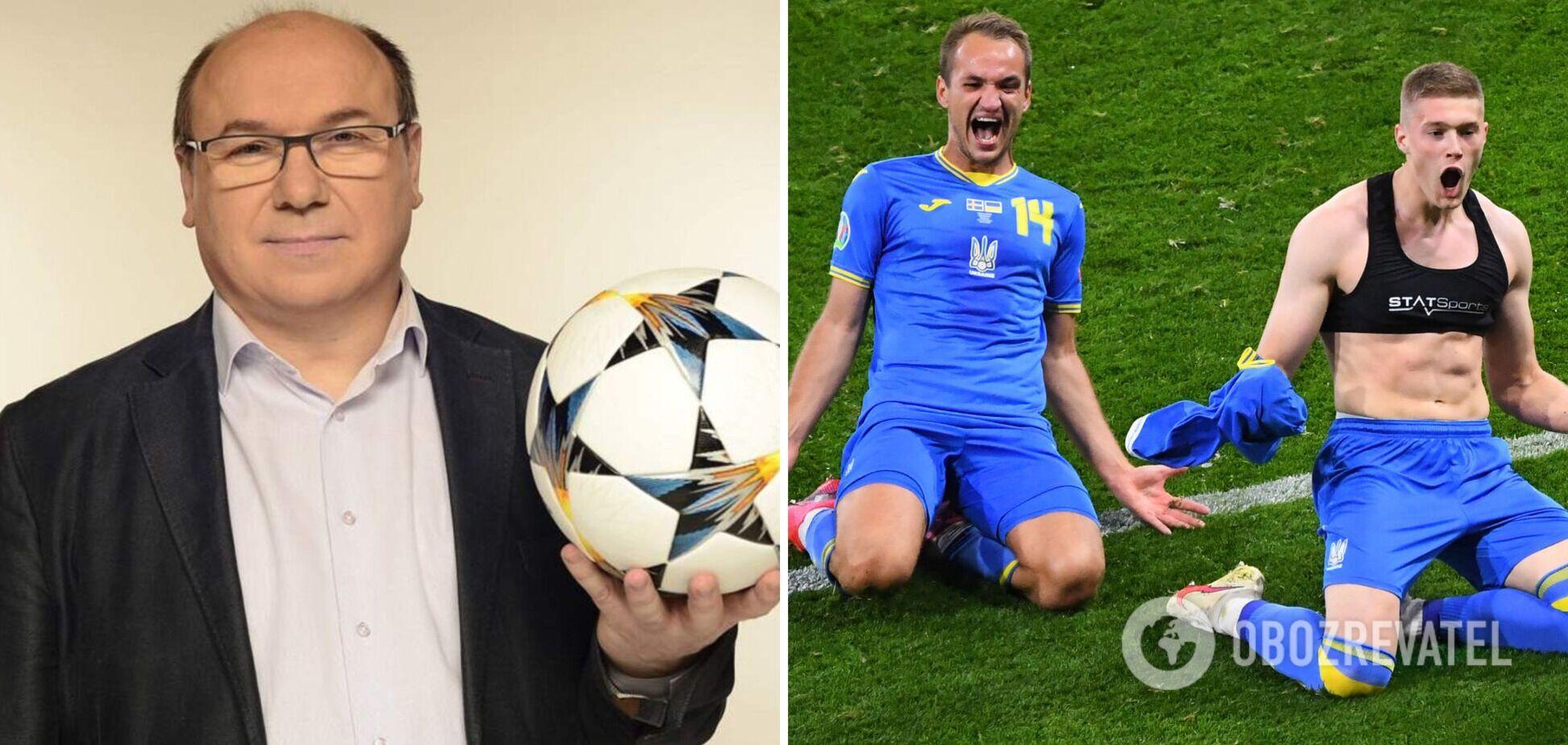 Леоненко высказался о матче Украина - Англия