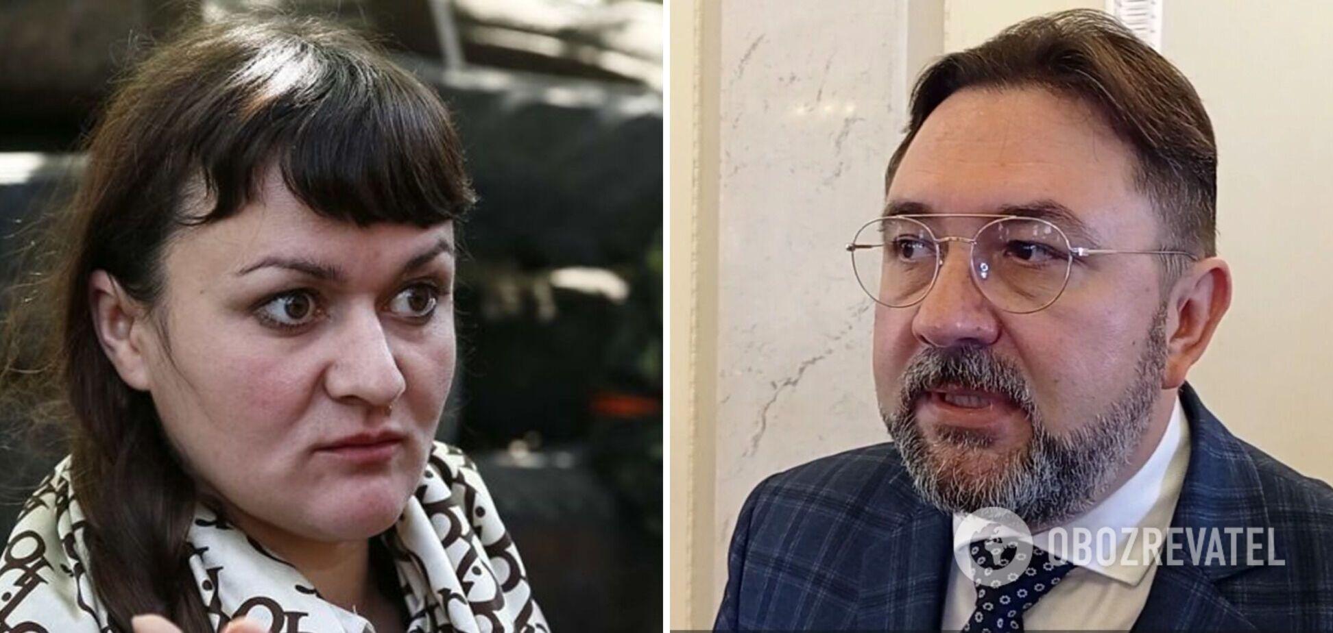 Скандальная Ирма Крат в кулуарах Рады избила Никиту Потураева. Видео инцидента