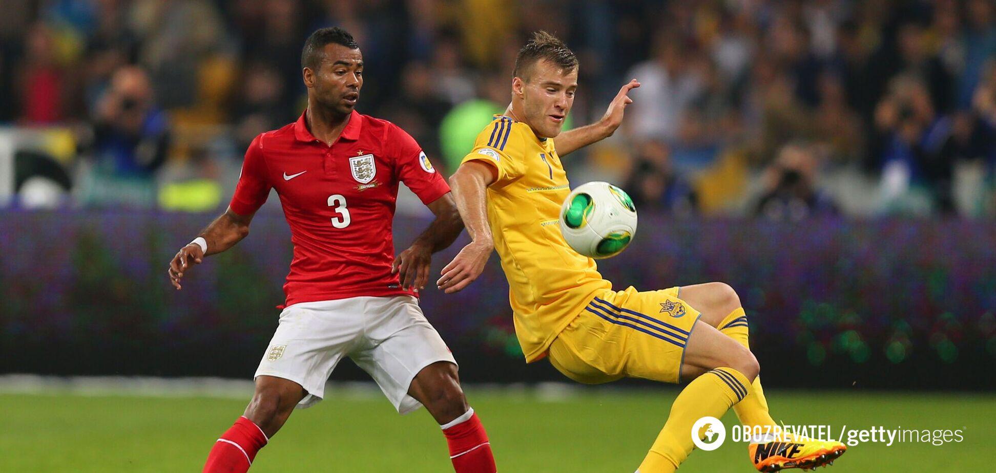 Україна Англія 2013