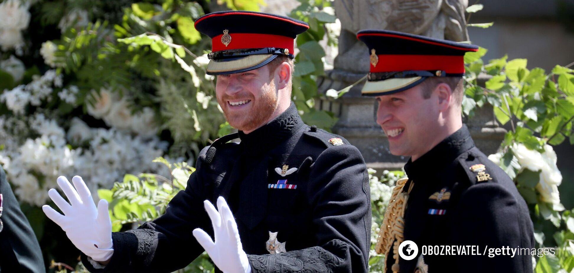 Принцы Уильям и Гарри обменялись несколькими сообщениями по телефону – СМИ