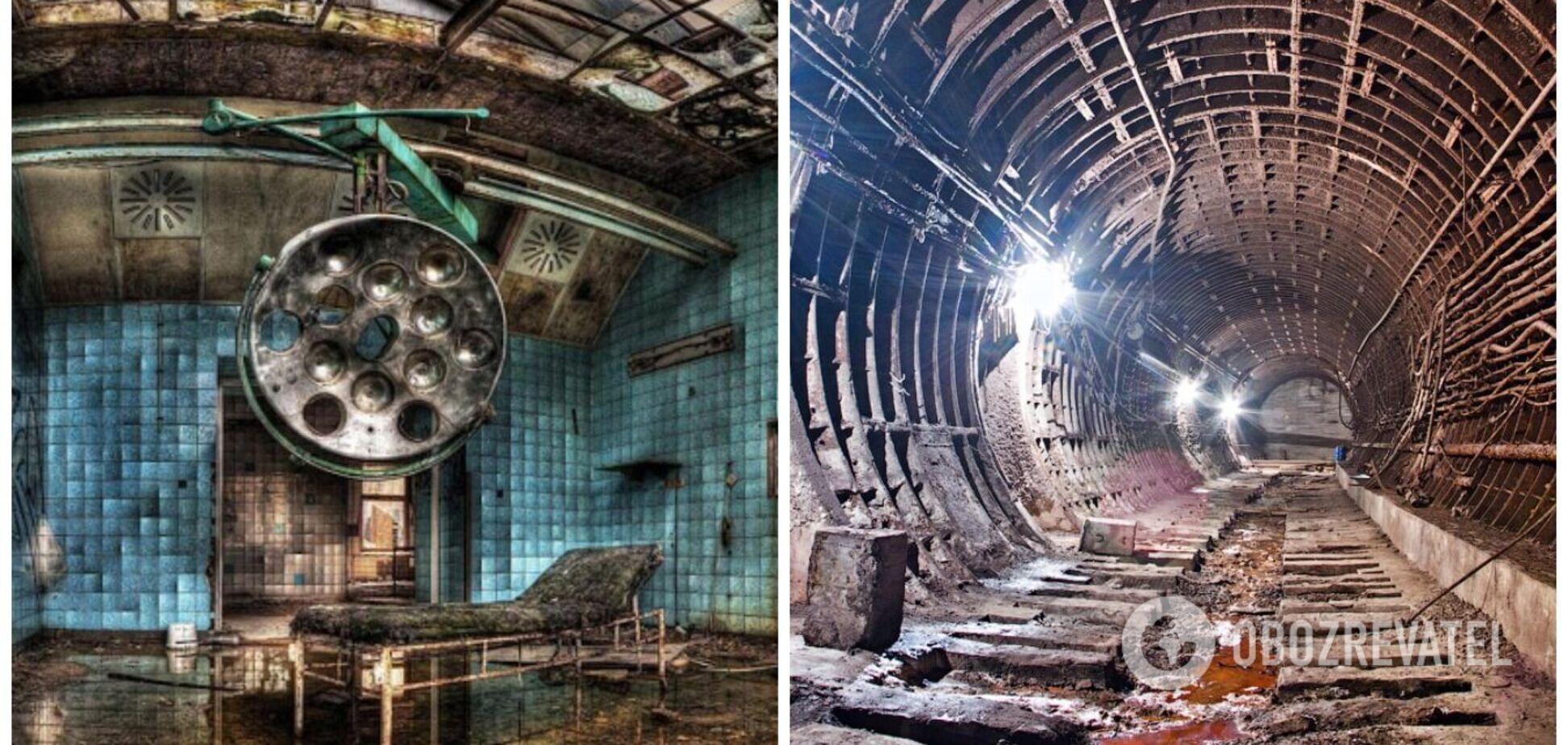 7 самых впечатляющих заброшенных мест Украины и мира. Фото