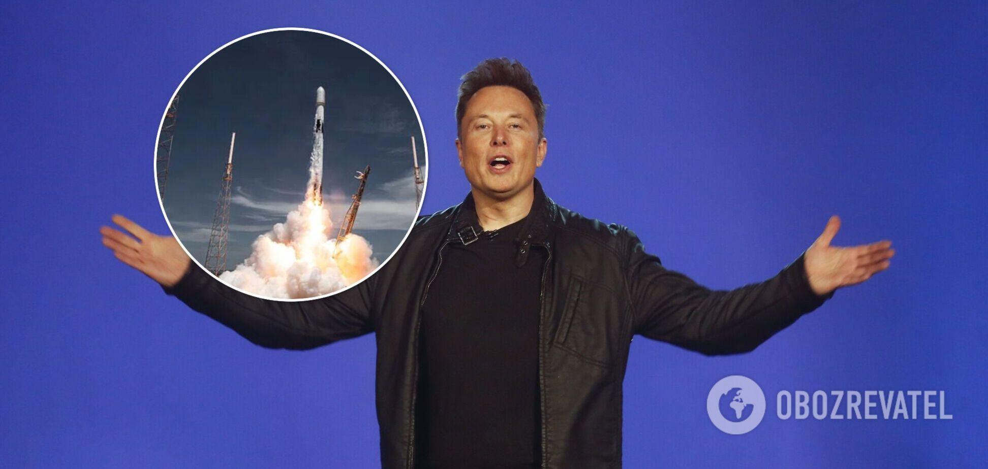 SpaceX з другої спроби запустила ракету з 88 супутниками на борту. Фото і відео