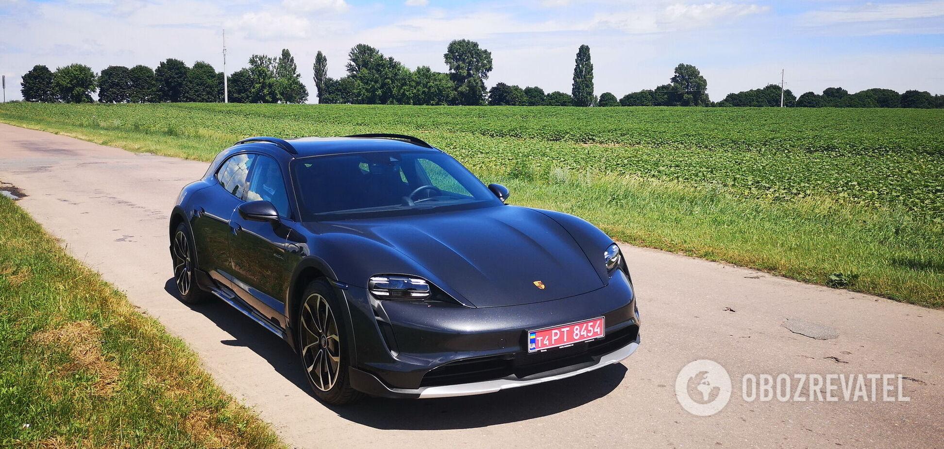 Porsche Taycan Cross Turismo пополнил семейство электромобилей в Украине