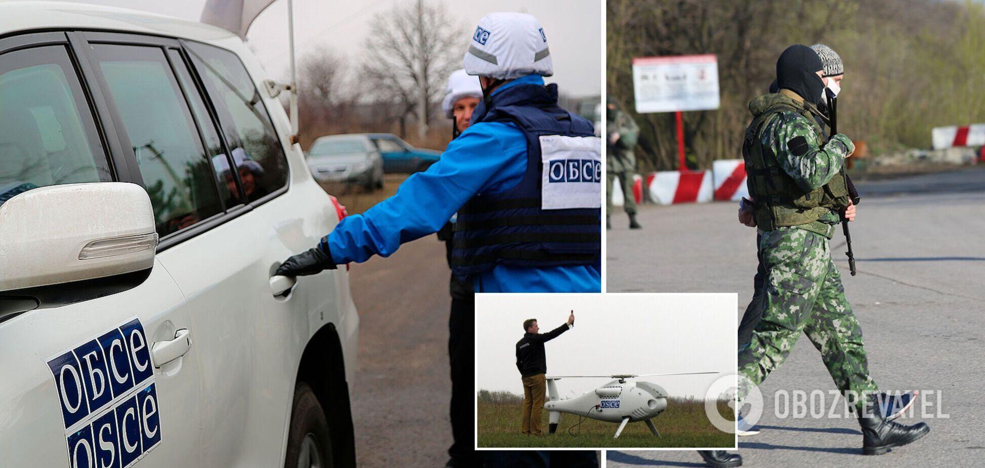 Найманці РФ на Донбасі не пропускали місію ОБСЄ через 'навчання' та глушили безпілотники