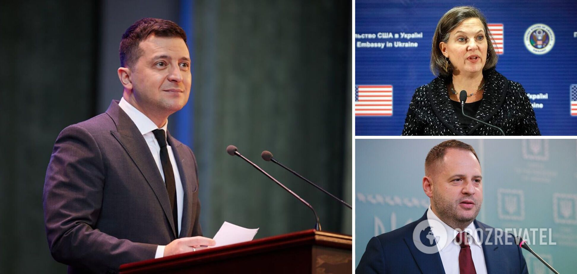 Ермак обсудил с Нуланд визит Зеленского в США и безопасность украинской границы