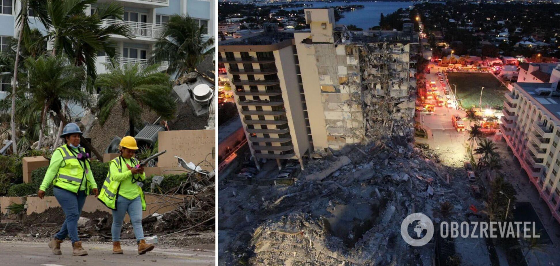 Обрушение дома во Флориде