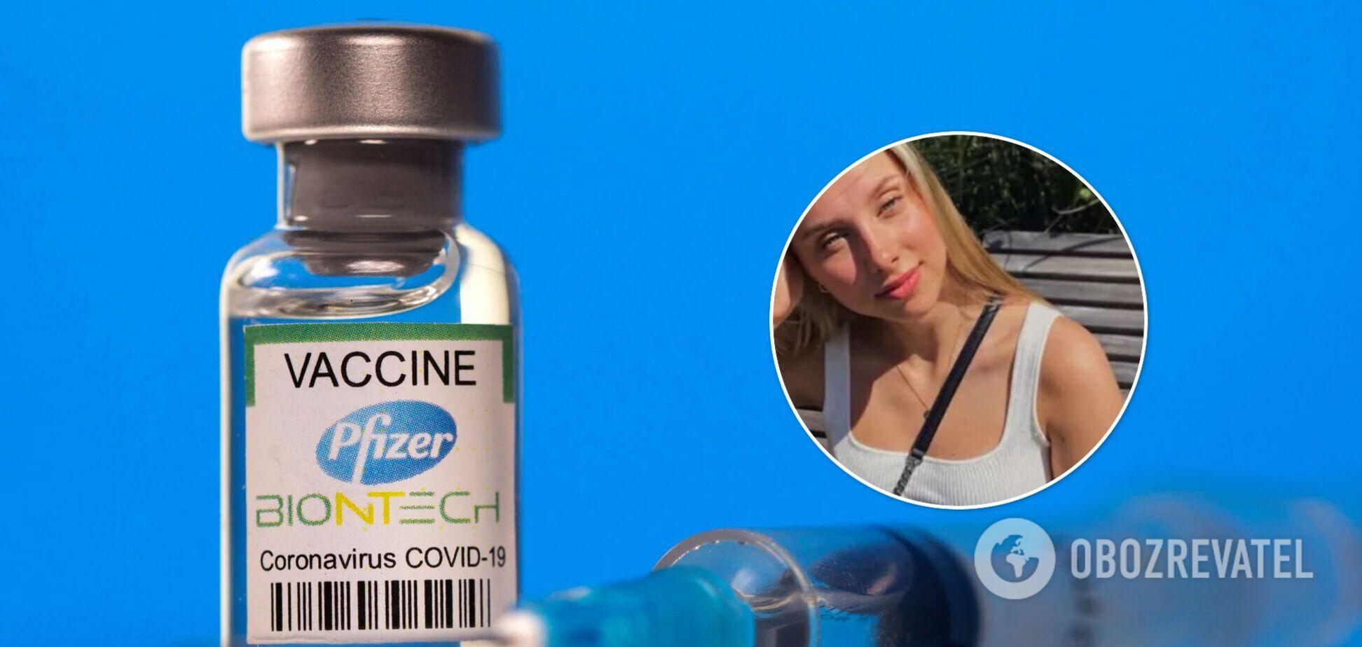 Увеличении груди после вакцинации Pfizer