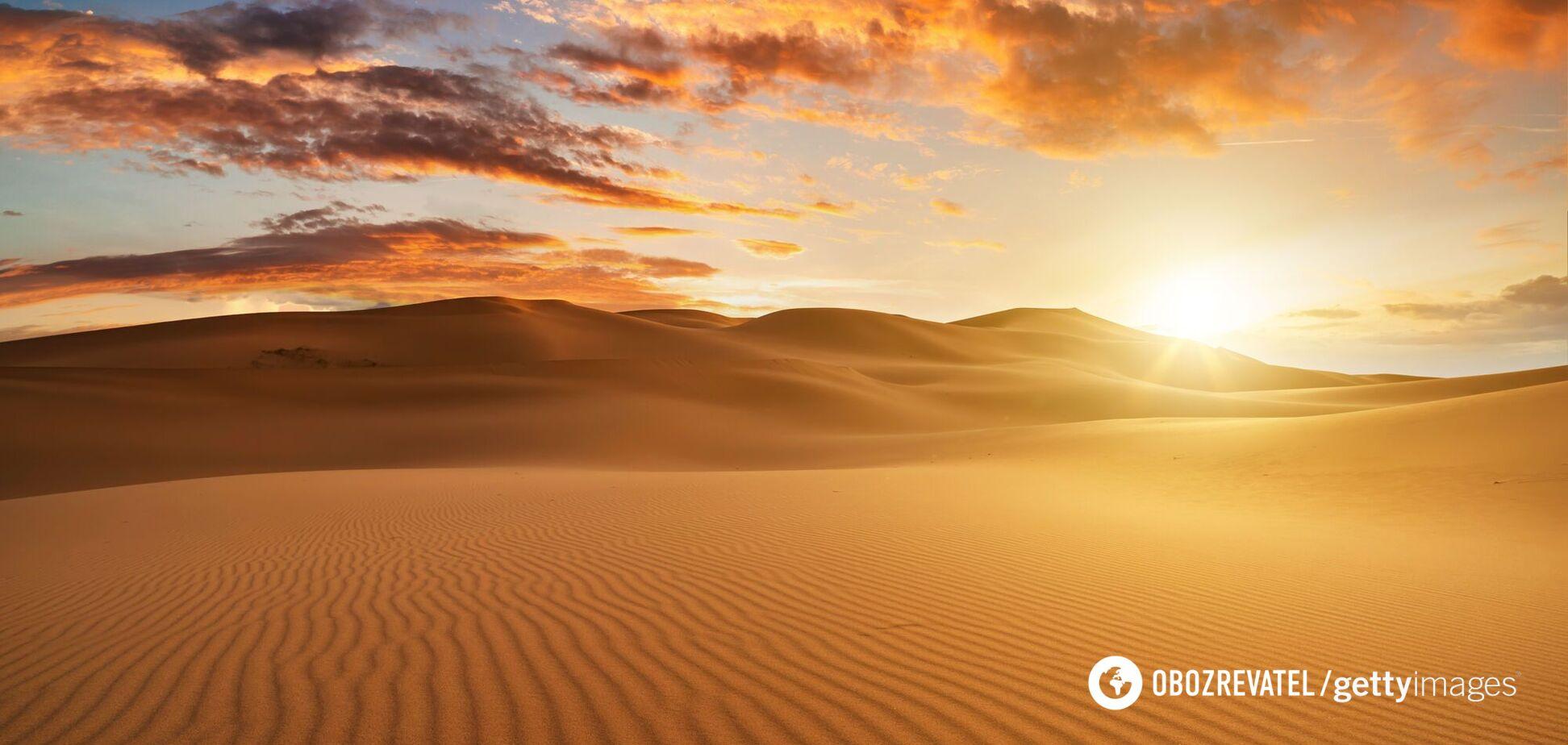 У Сахарі виникла пилова буря