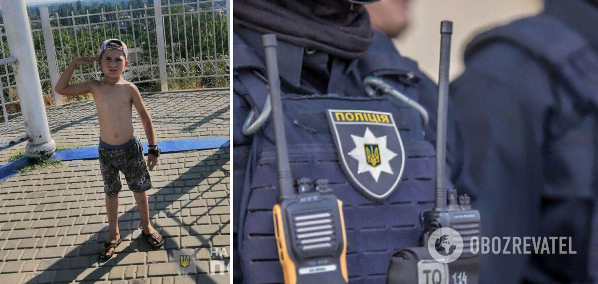 Под Полтавой пропал 8-летний мальчик, на его поиски полиция бросила все силы. Фото