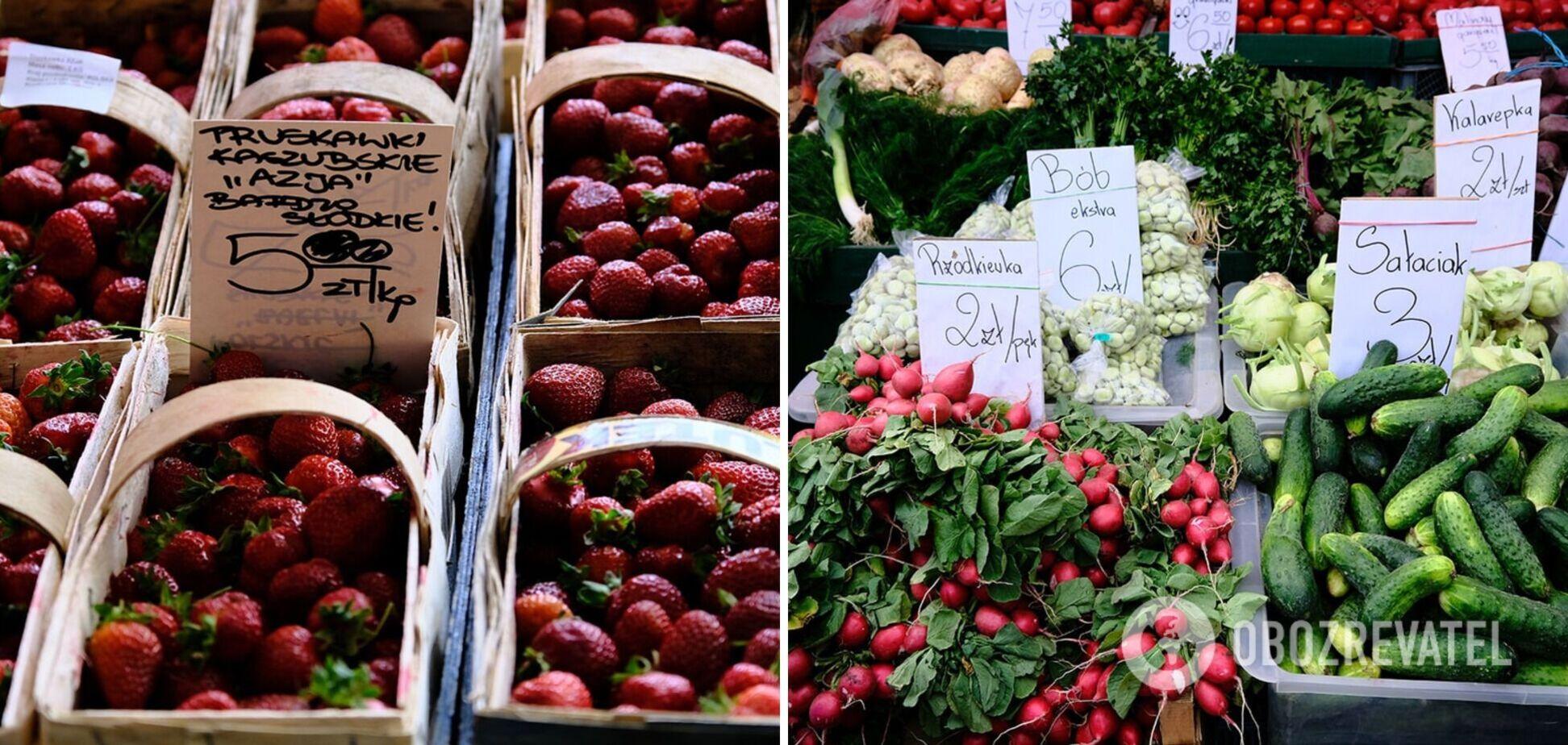 Україна, Білорусь чи Польща: де найдешевше можна купити овочі та фрукти