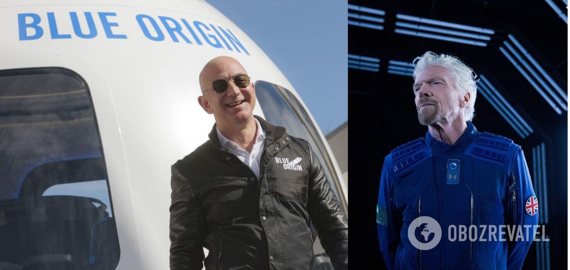 У Безоса придумали, как победить Брэнсона в космической гонке миллиардеров