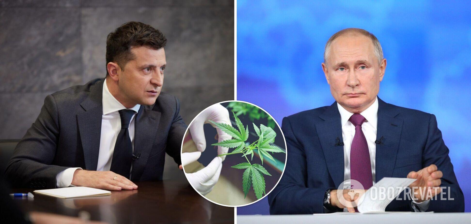 Новости Украины: Зеленский созывает ВР для легализации каннабиса, а Путин написал статью на украинском языке