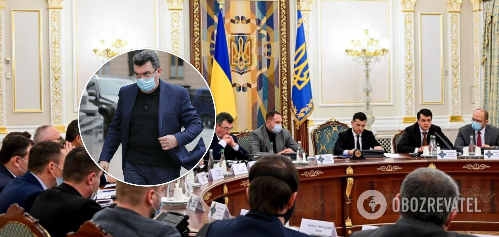 Данилов анонсировал выездное заседание СНБО и раскрыл повестку дня
