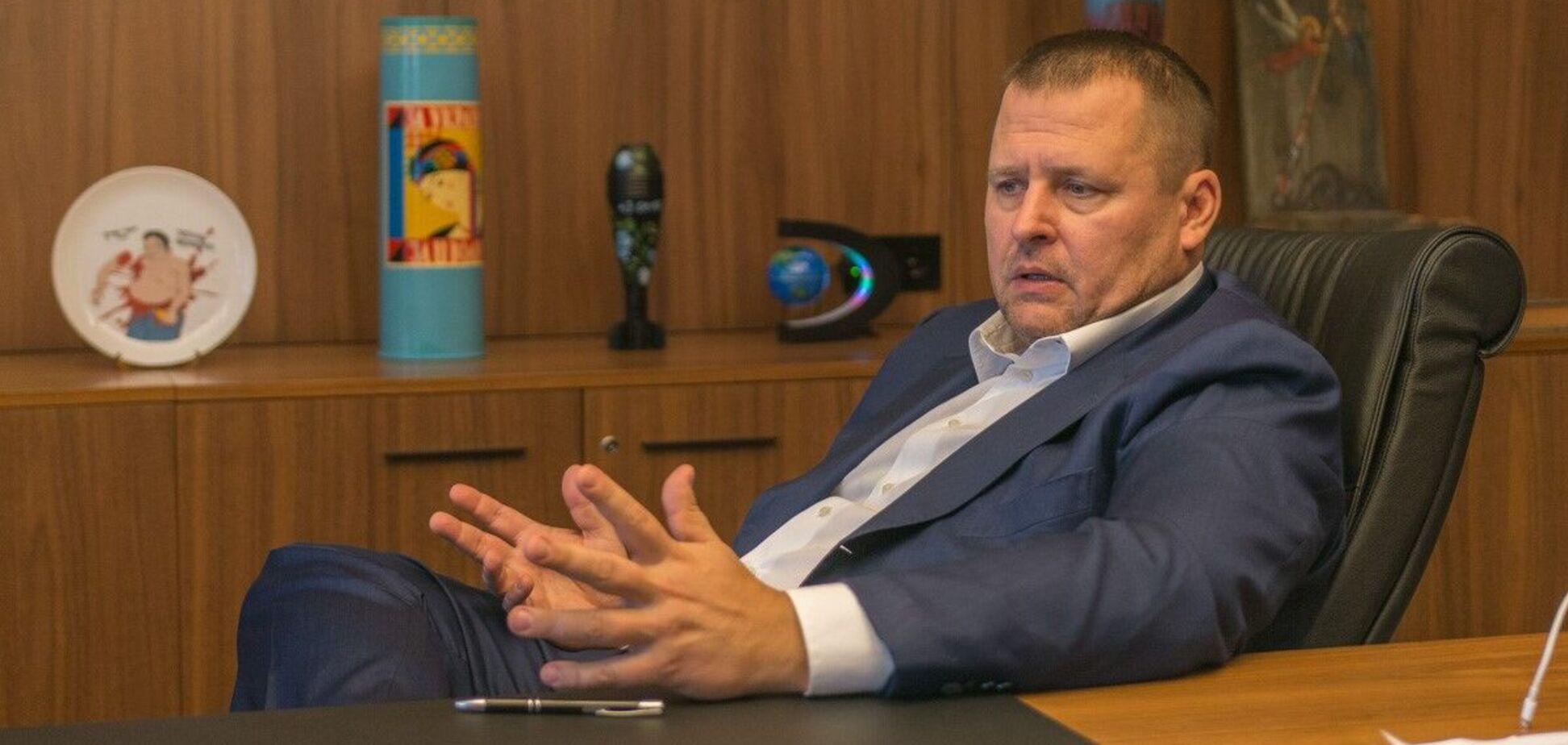 Городской глава Днепра Борис Филатов