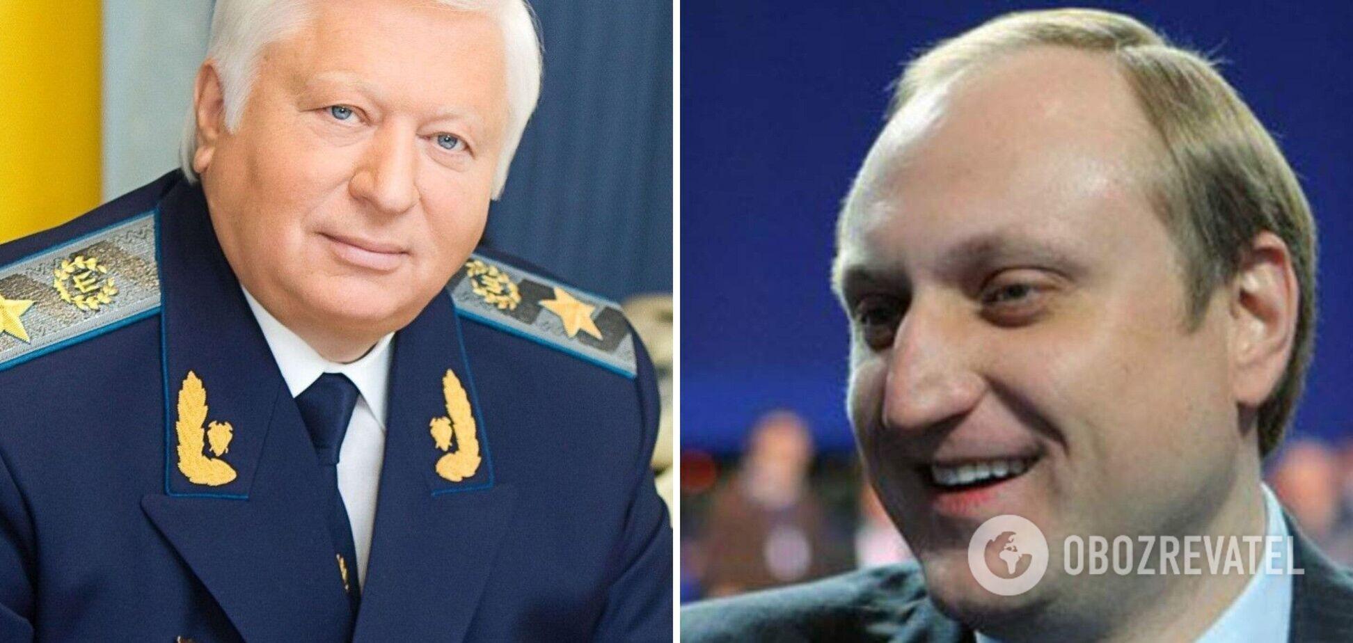 Европейский суд якобы отменил санкции против Виктора и Артема Пшонки