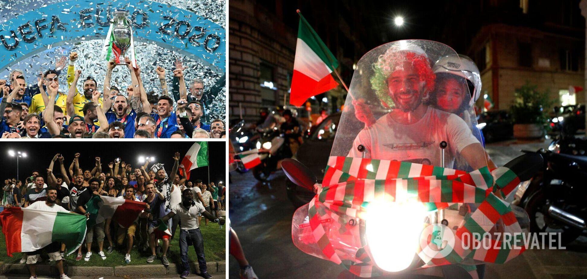 Італія перемогла на Євро-2020