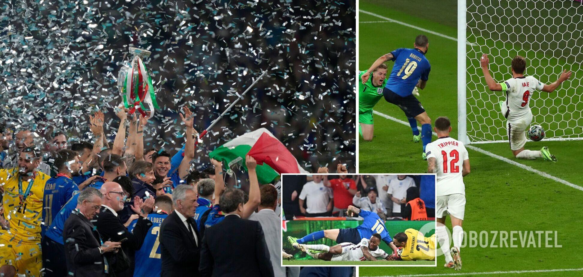 Италия Англия