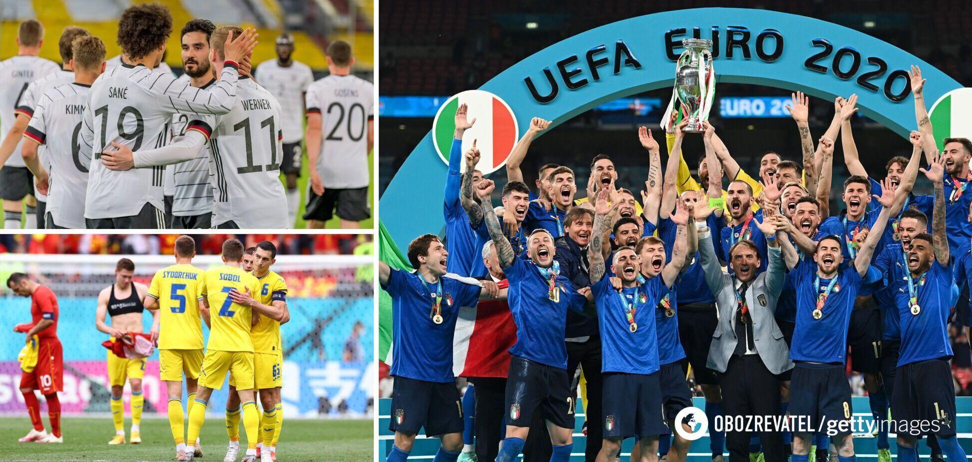 Букмекеры назвали фаворита Евро-2024 по футболу и опубликовали ставки на Украину