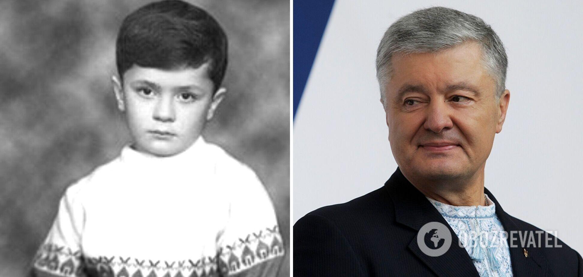 Как менялся Петр Порошенко: фото политика на протяжении карьеры