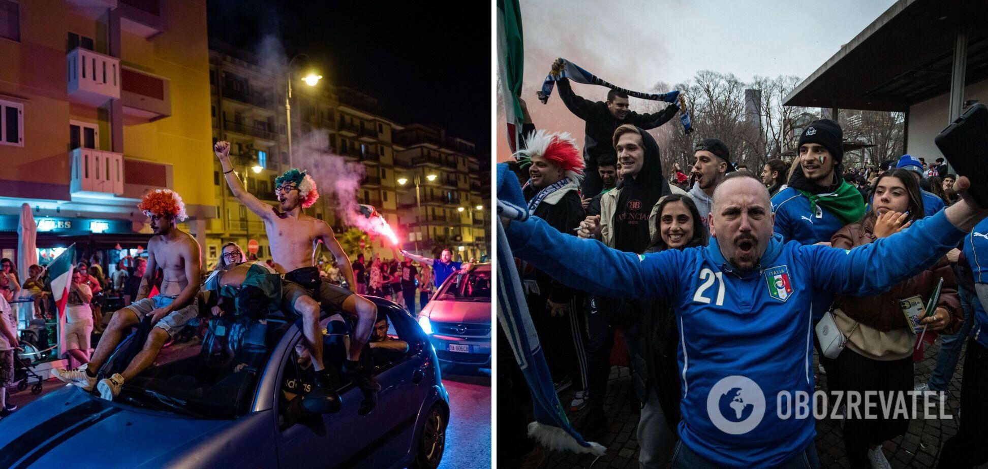 Фанаты сборной Италии