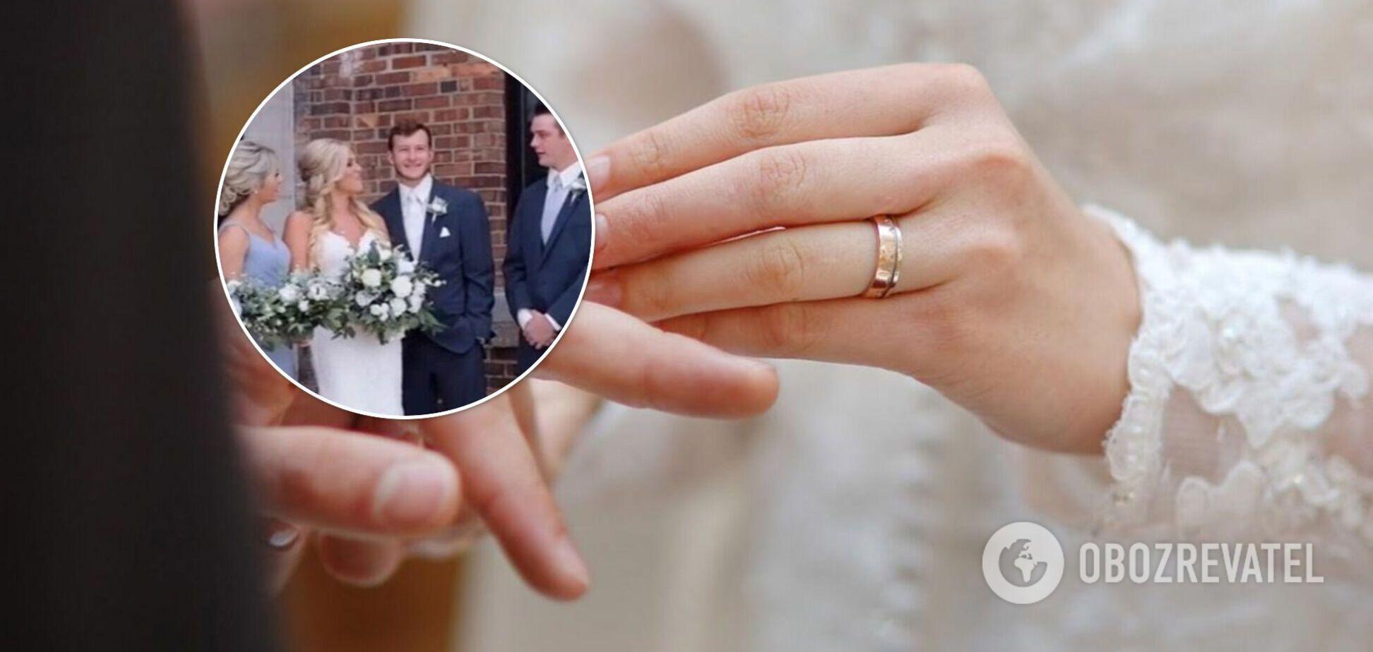 На весіллі оператор назвав наречену ім'ям колишньої дівчини її нареченого. Відео