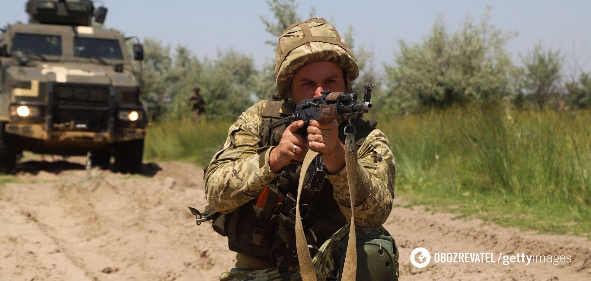 В Україні стартували навчання CossackMace021 за участю військових з п'яти країн. Відео