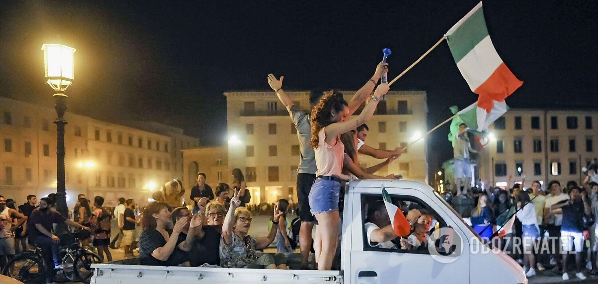 Кілька людей загинуло під час святкування перемоги Італії на Євро-2020