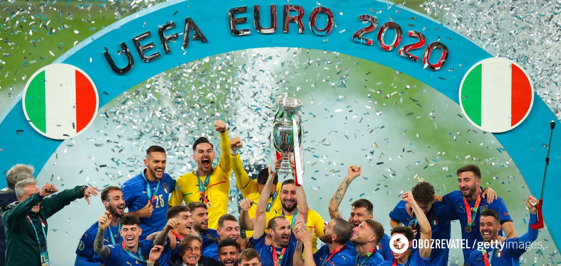 Італія виграла Євро-2020