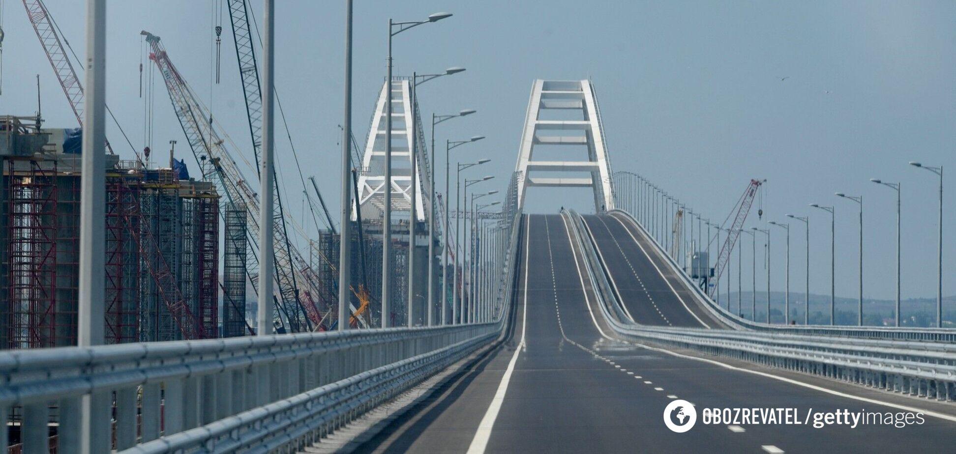 Путін може приховати проблеми Кримського мосту, – Жданов