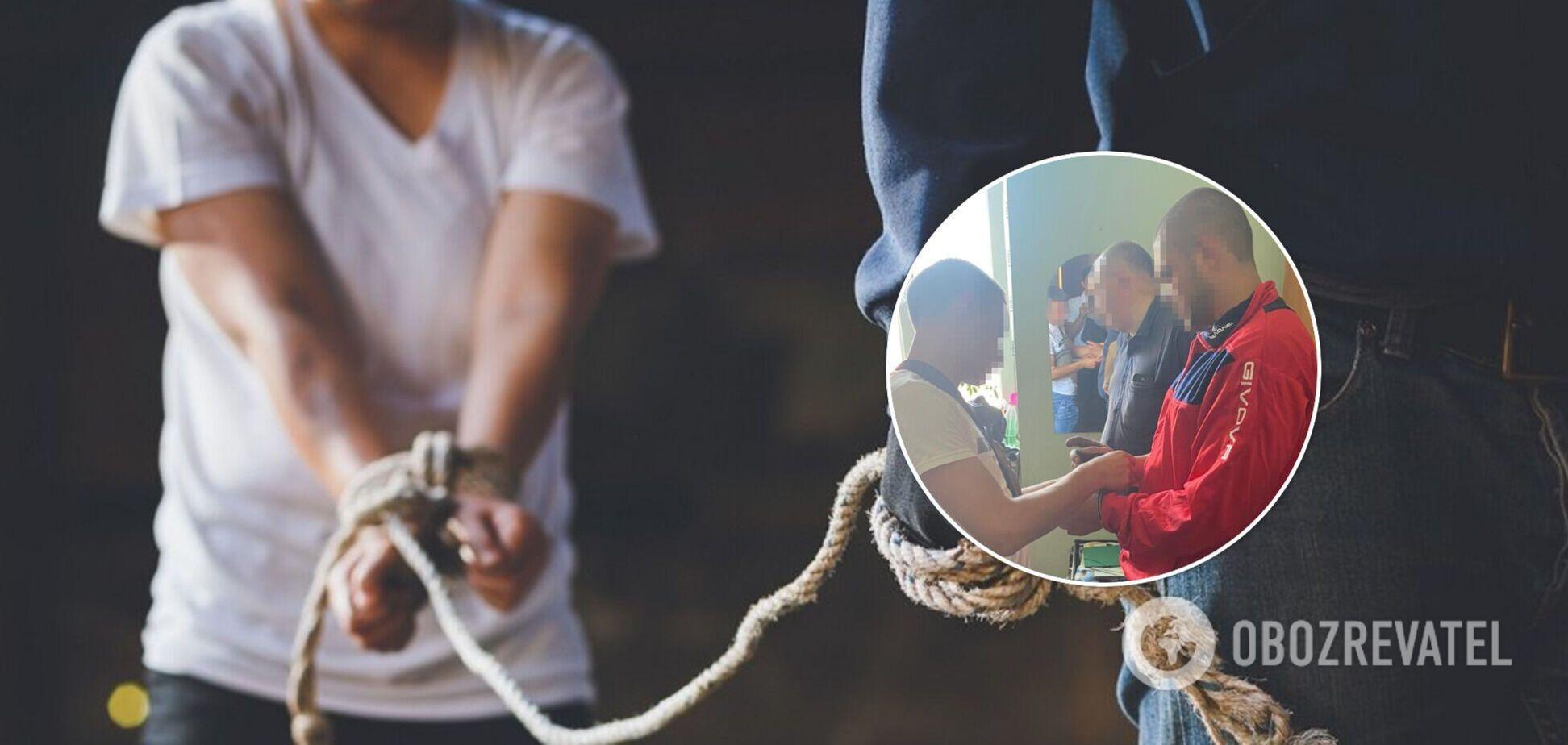 На Львівщині вимагачі викрали і вивезли в ліс хлопця. Фото