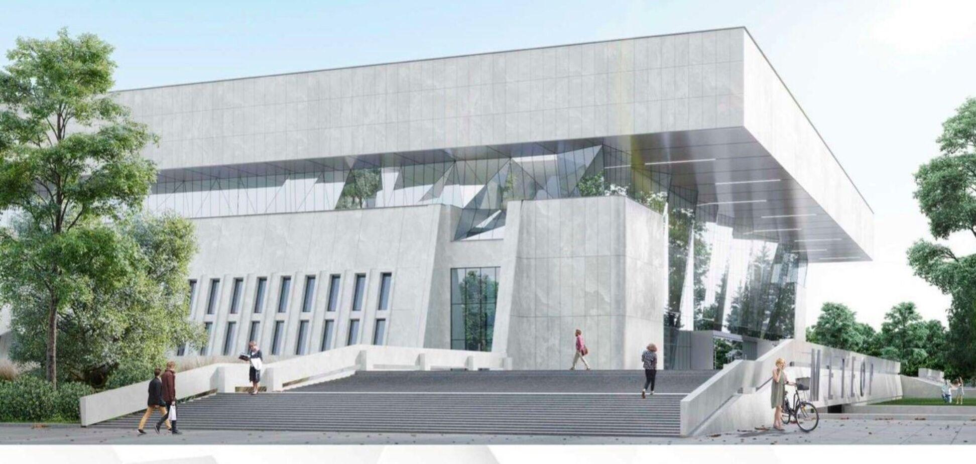У Дніпрі побудують видовищно-спортивний палац 'Метеор'