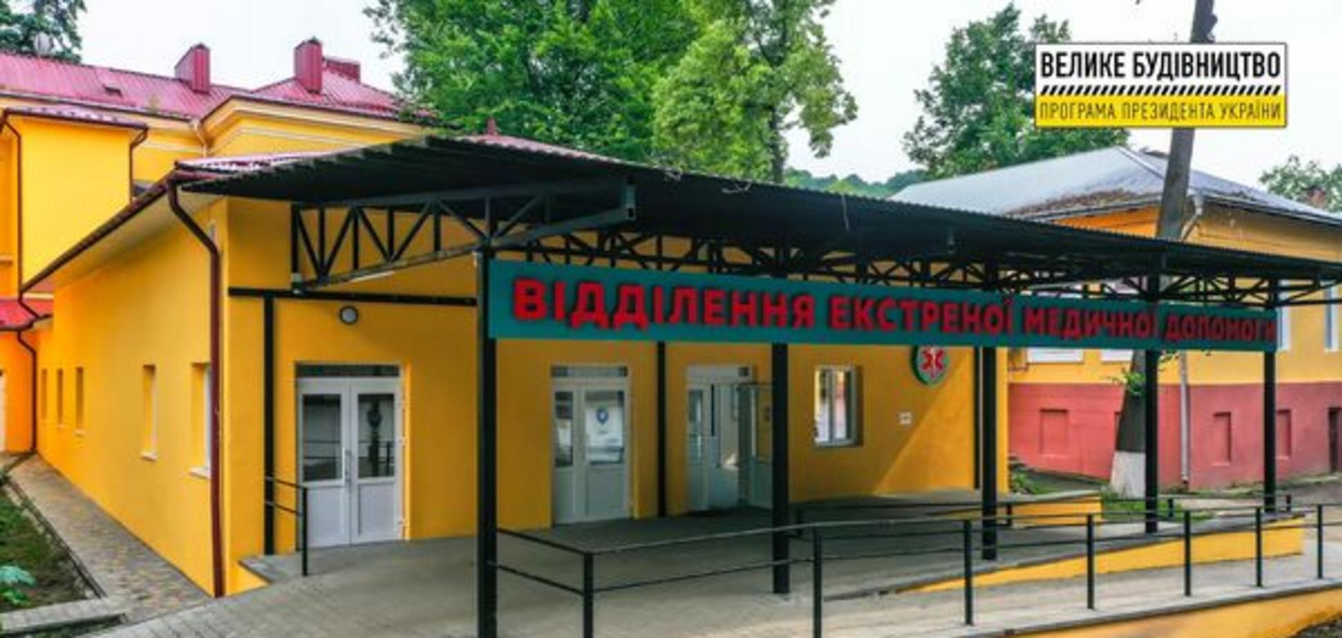 У лікарні Вижниці відкрилося сучасне відділення екстреної медичної допомоги