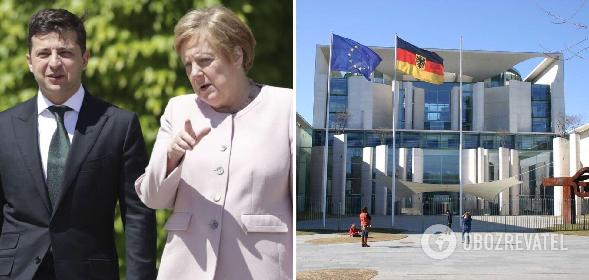 В Берлине Зеленский и Меркель выступили с заявлениями о 'Северном потоке-2' и Донбассе. Фото и видео