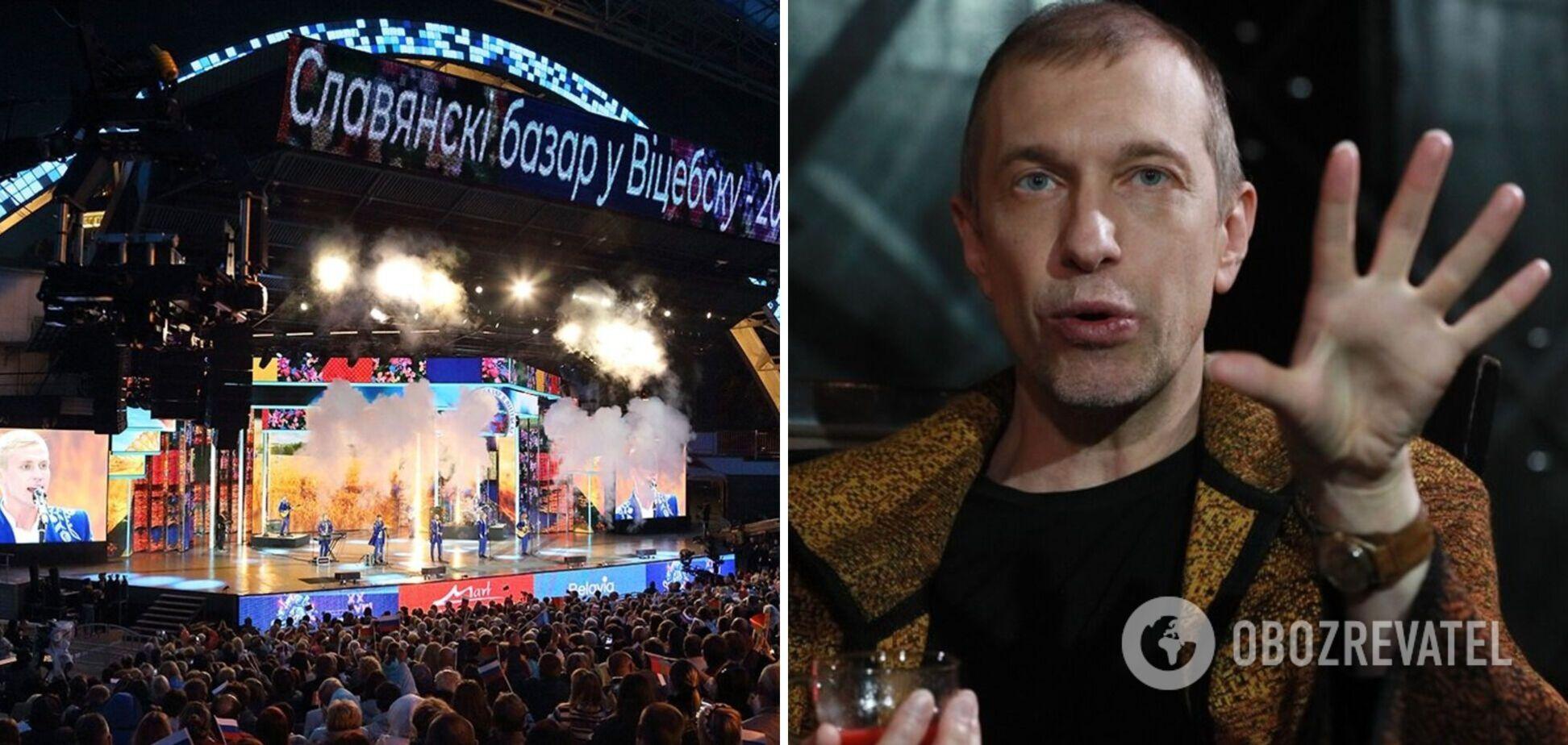 Російський артист з бази українського 'Миротворця' прокляв білоруську владу