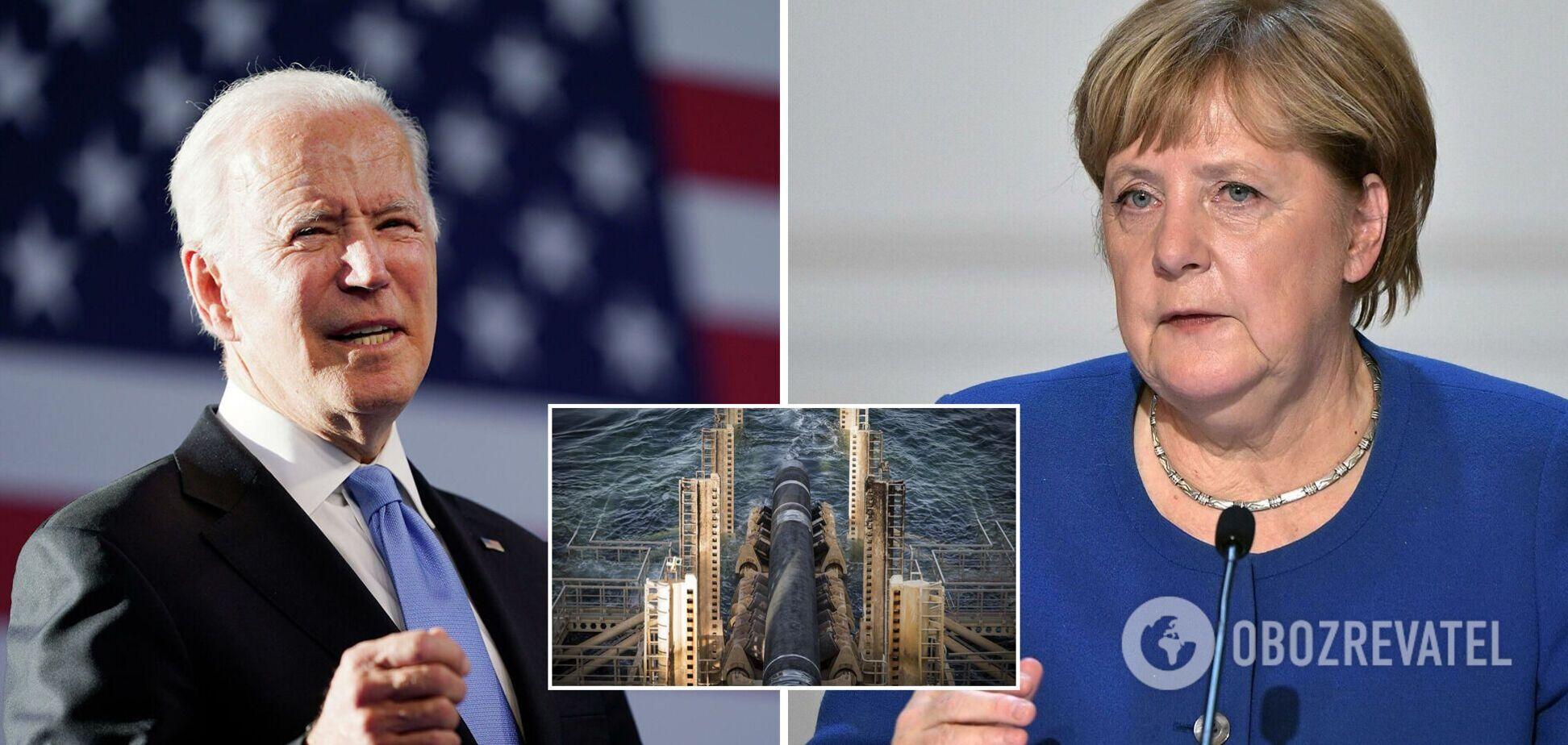 Меркель ставить під загрозу відносини із США через 'Північний потік-2' – Bloomberg