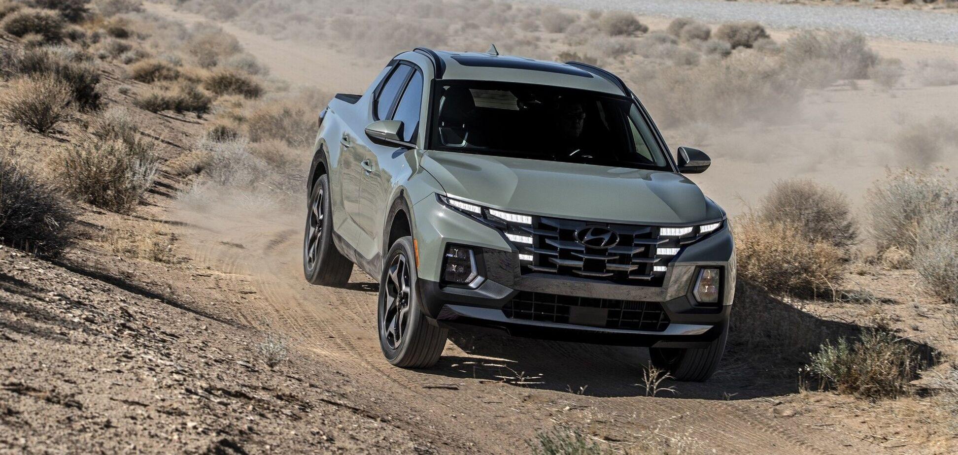 Компанія Hyundai назвала ціни на новий пікап Santa Cruz