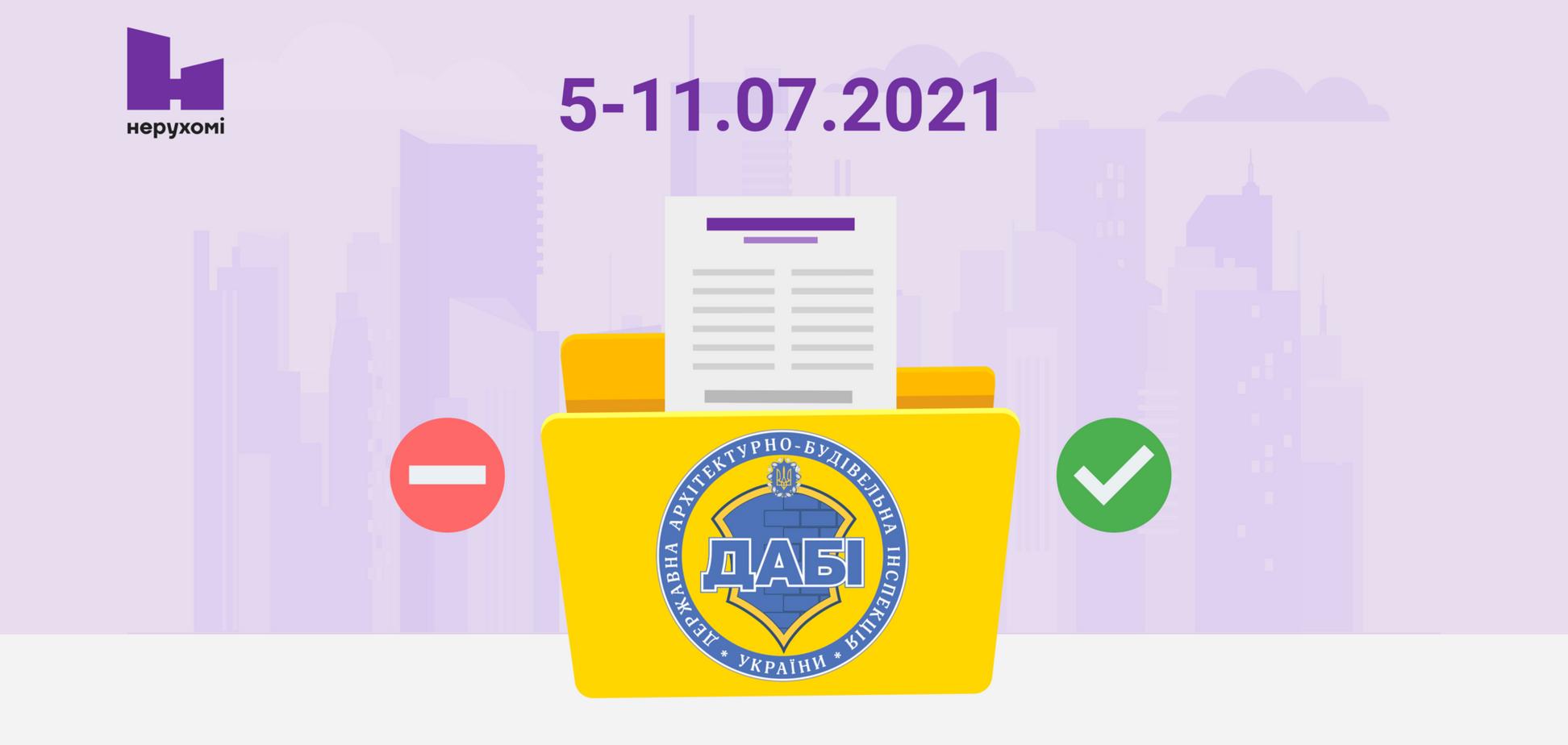 Обзор работы ГАСИ за неделю: кому выдали разрешения и сертификаты на ЖК