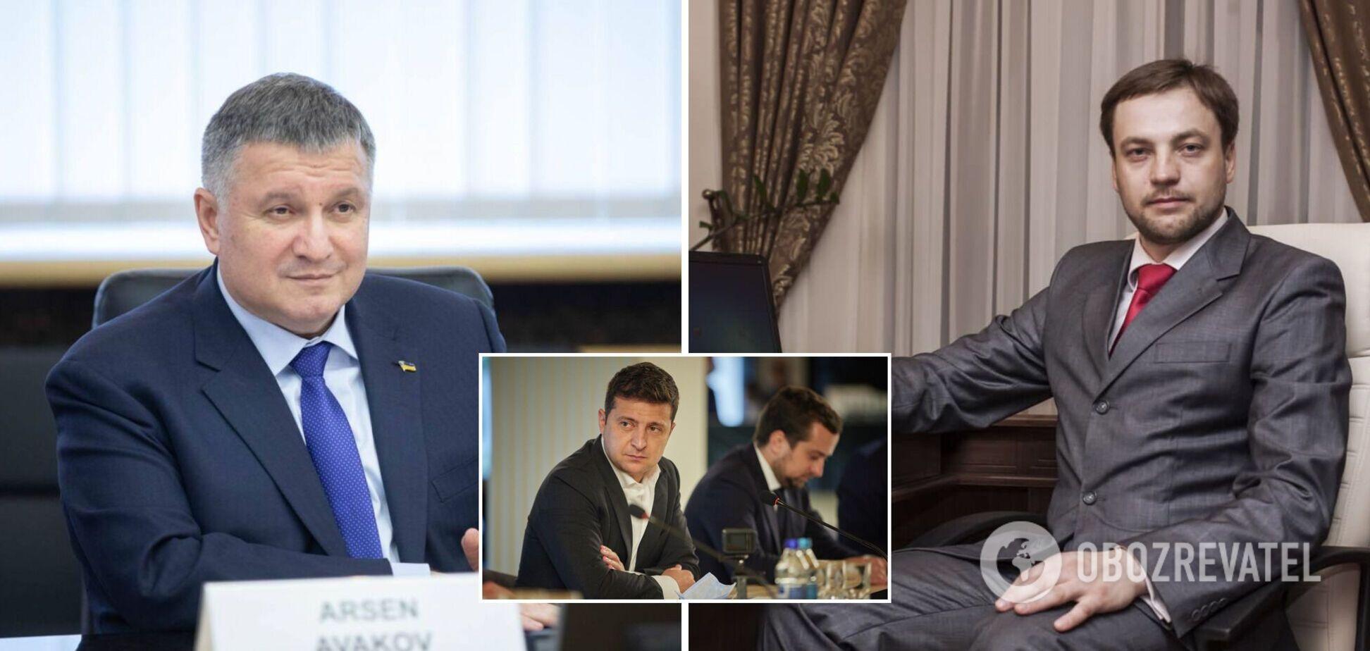 Володимир Зеленський знайшов заміну Арсену Авакову