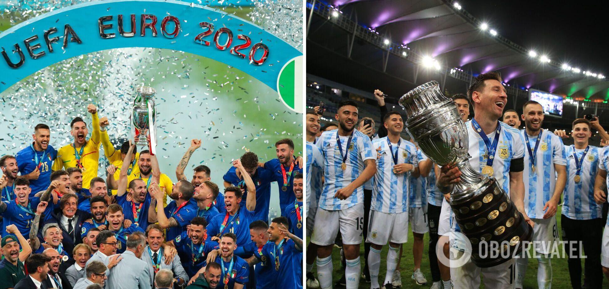 Италия Аргентина