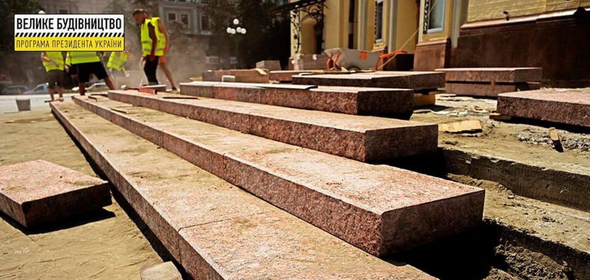 У Києві відремонтують Театральну площу і фасад будівлі Національної опери