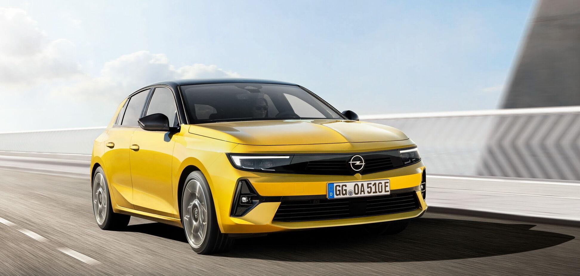 Opel презентував шосте покоління моделі Astra