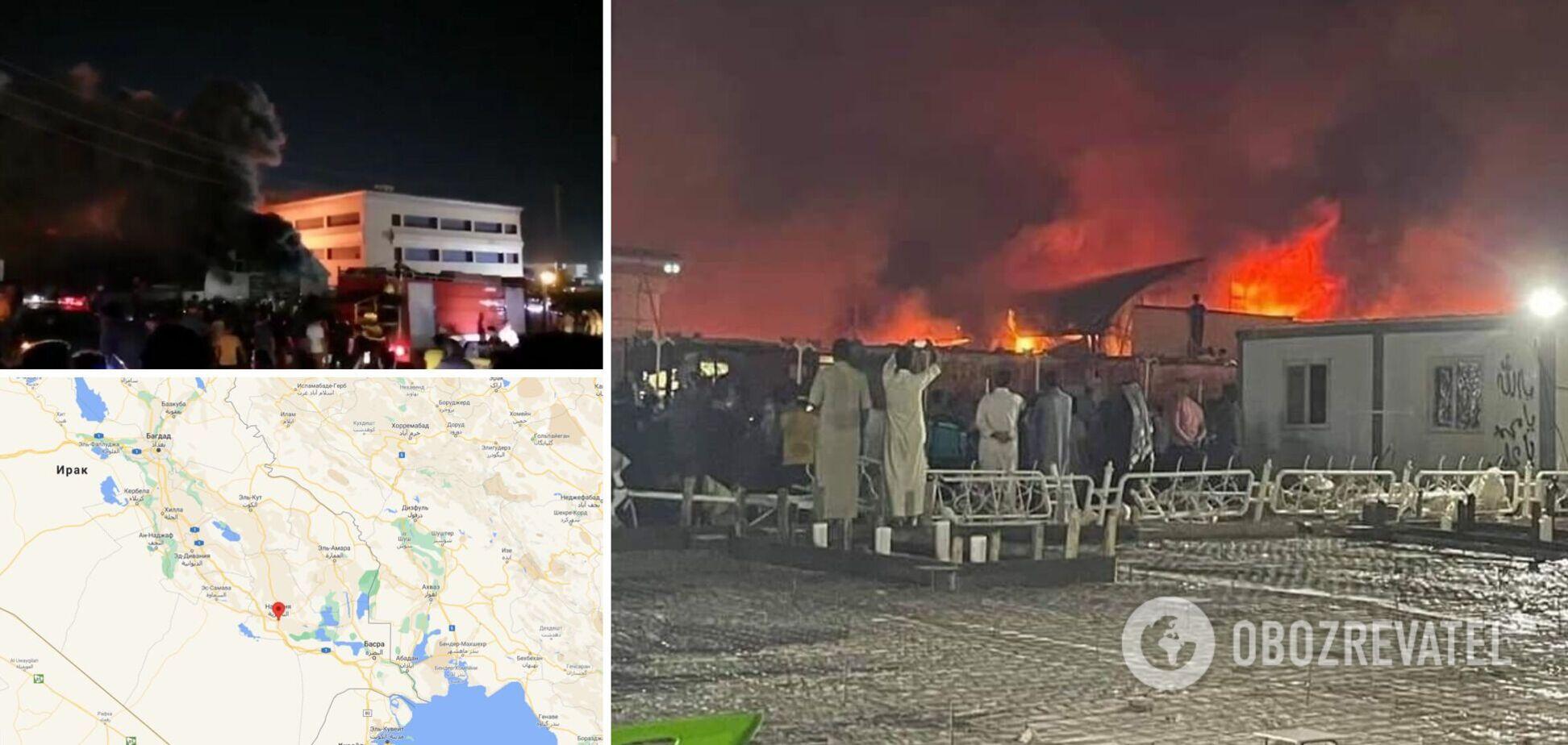 В иракской больнице для пациентов с COVID-19 произошел пожар: количество жертв превысило 120. Фото и видео