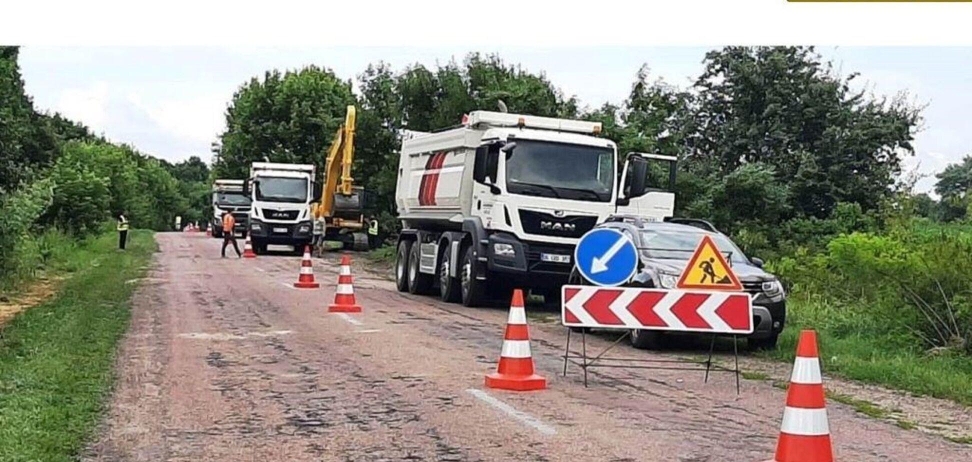 На Житомирщине стартовал ремонт трассы государственного значения Т-06-11