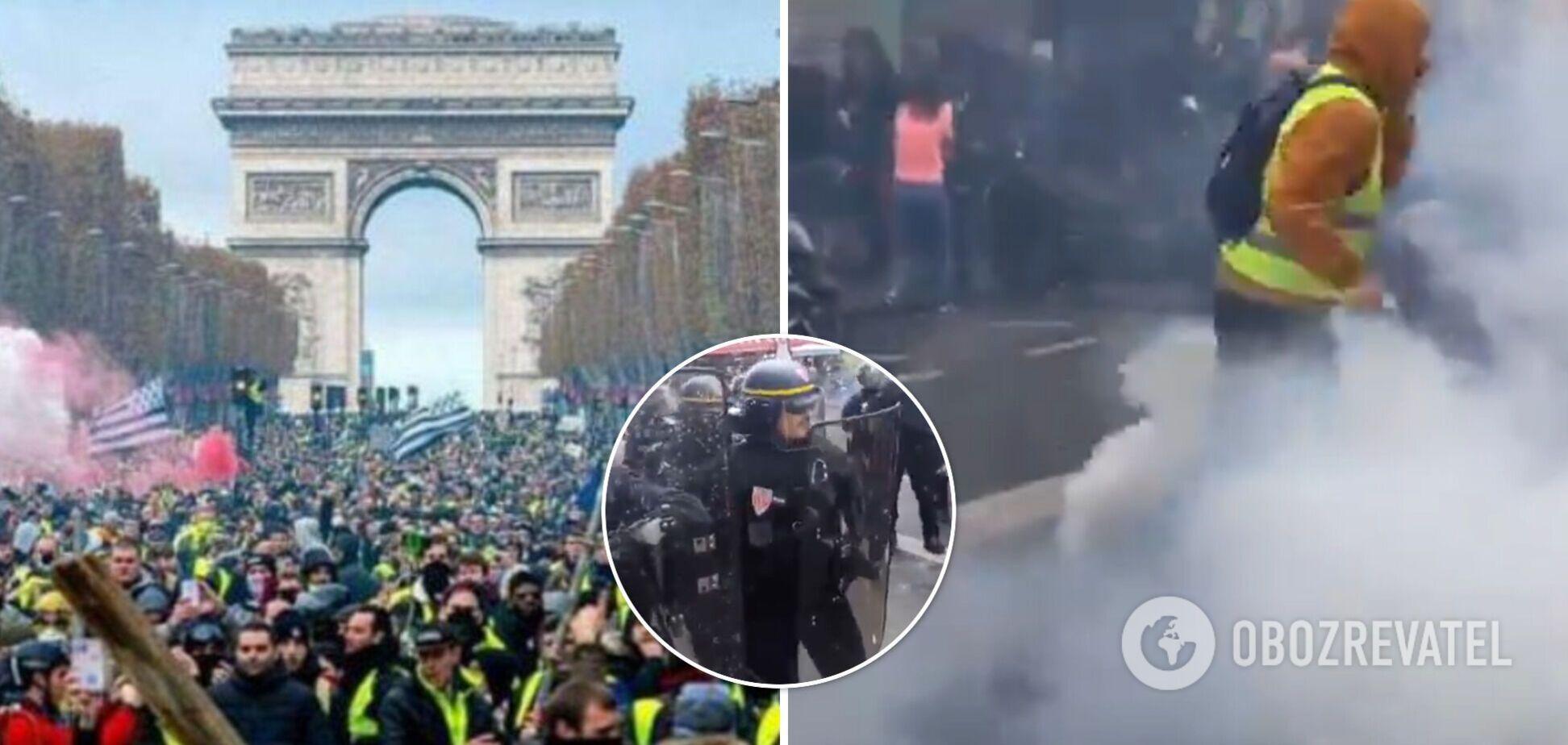 У Франції повстали проти COVID-сертифікатів, поліція застосувала гранати та сльозогінний газ. Фото та відео