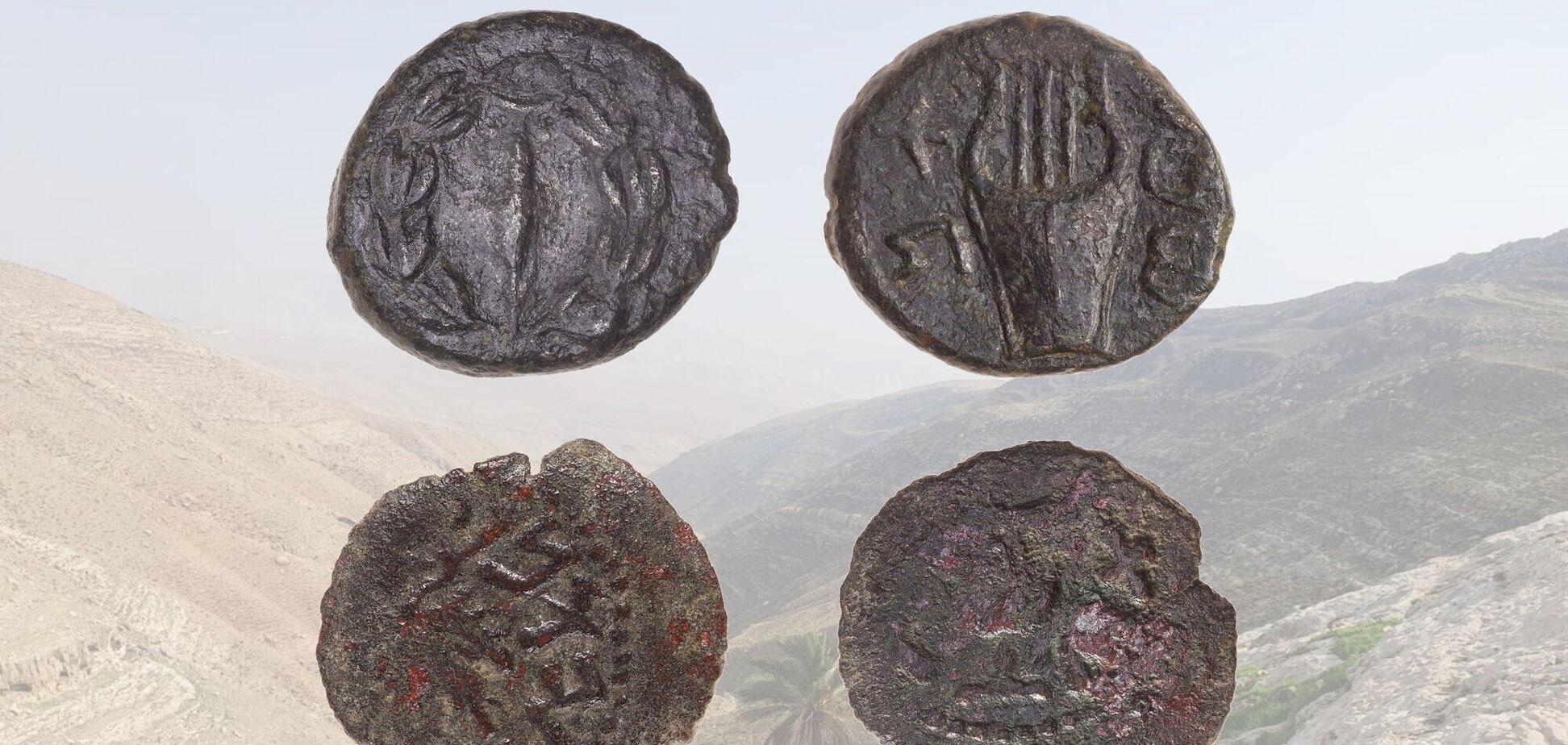 В Израиле археологи нашли редкие монеты времен восстания иудеев, которым 2 тыс. лет. Фото
