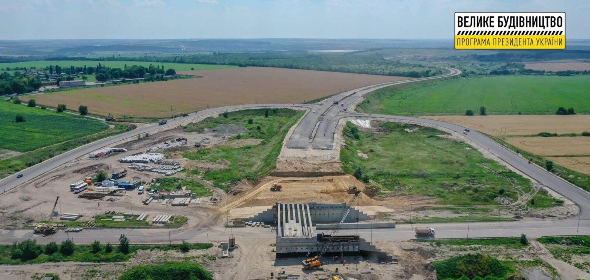В Днепре продолжается активное строительство объездной дороги