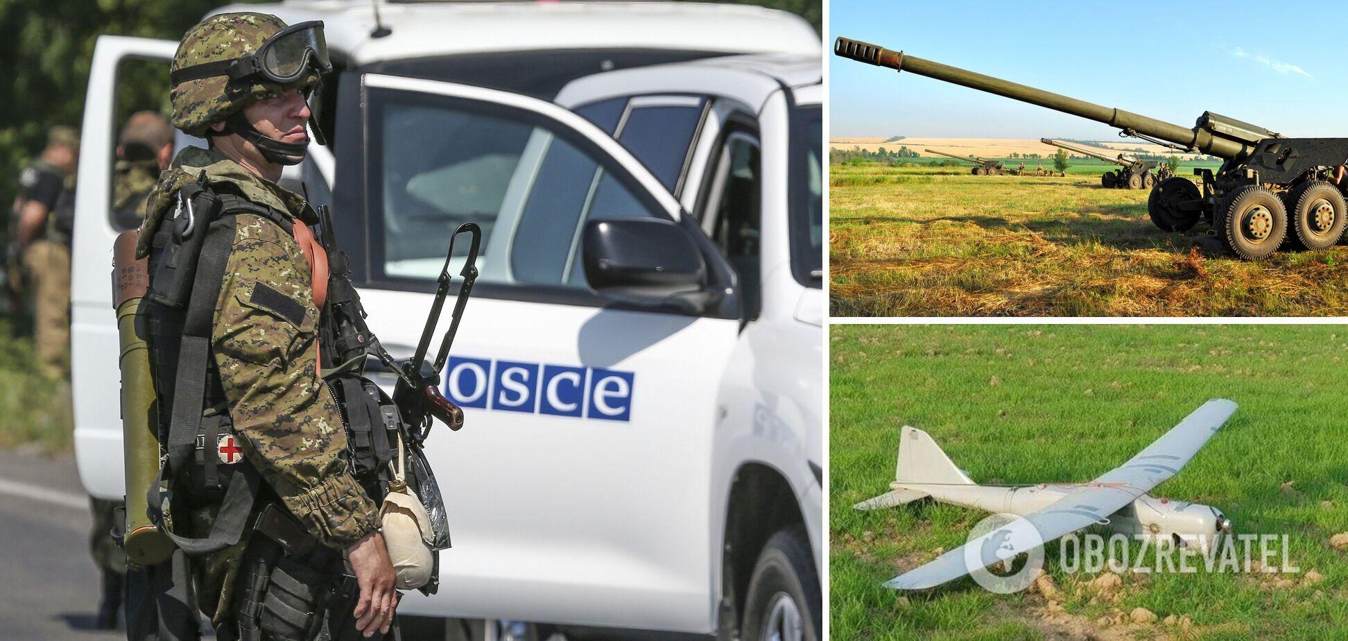 ОБСЄ повідомила про стягування бойовиками важкого озброєння до лінії розмежування